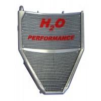 Galletto Radiatori (H2O Performance) Oversize Radiator kit For Honda CBR600RR (2007-10)