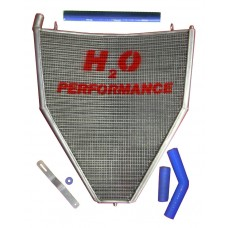 Galletto Radiatori (H2O Performance) Oversize Radiator kit For Honda CBR1000RR (2006-07)