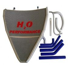 Galletto Radiatori (H2O Performance) Oversize Radiator kit For Honda CBR1000RR (2008-13)
