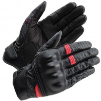 RS Taichi Stealth Leather Mesh Gloves - RST434