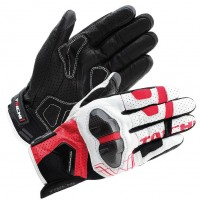 RS Taichi Armed Leather Mesh Gloves RST426 - Closeout