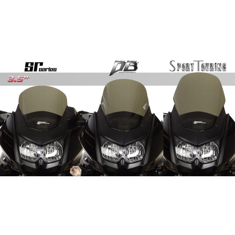 Zero Gravity Sport Touring Windscreen Dark Smoke for Kawasaki KLR650 2008-2018