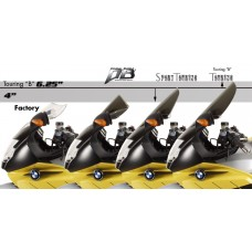 Zero Gravity Racing Windshields for the BMW K1200S (2005-2008)