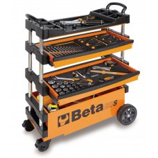 Beta Tools Model C27S Folding Tool Trolley