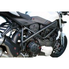 LLS Aluminum RED Bolt Kits For Ducati Streetfighter
