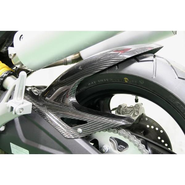 Carbondry Ducati Monster 696 Carbon Fiber Rear Hugger
