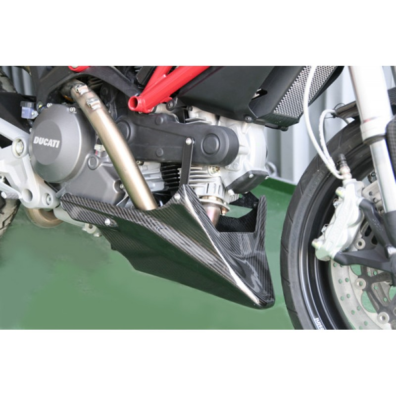 Carbondry Ducati Monster 696 796 1100 Carbon Fiber Belly Pan