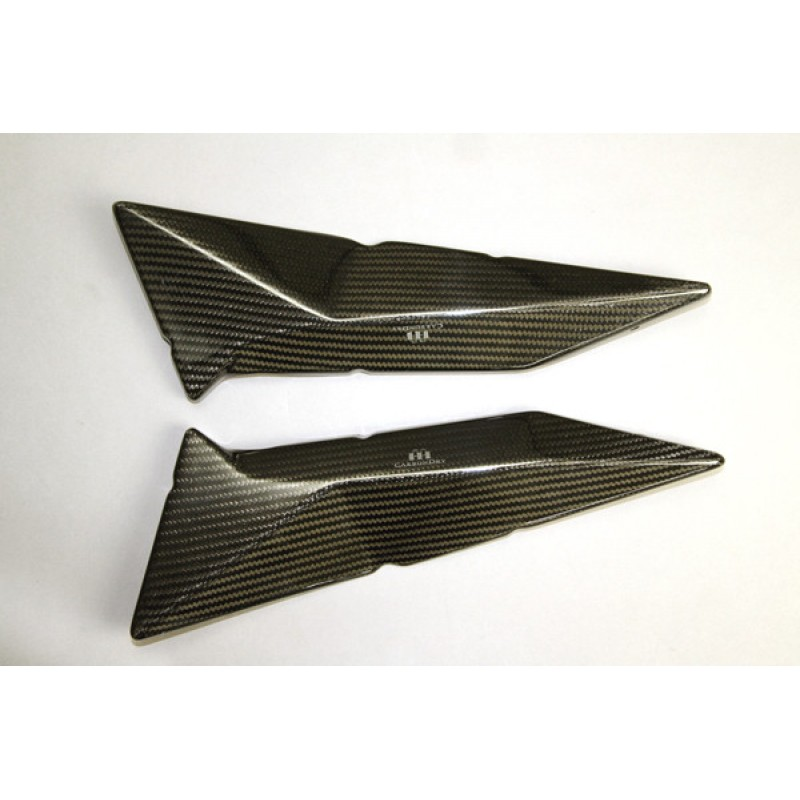 CARBONDRY - DUCATI HYPERMOTARD 1100 / 796 CARBON FIBER FRAME INSERTS ...