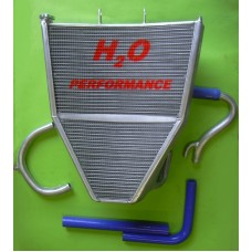 Galletto Radiatori (H2O Performance) Oversize Radiator kit For Kawasaki ZX-6R NINJA (2007-08)