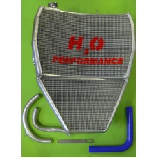 Galletto Radiatori (H2O Performance) Oversize Radiator kit For Kawasaki ZX-10R (2008-10)
