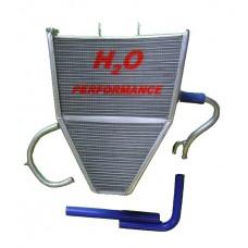 Galletto Radiatori (H2O Performance) Oversize Radiator kit For Kawasaki ZX-6R NINJA (2009+)