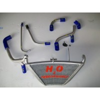 Galletto Radiatori (H2O Performance) Additional Radiator kit For Kawasaki ZX-10R (2011-15)
