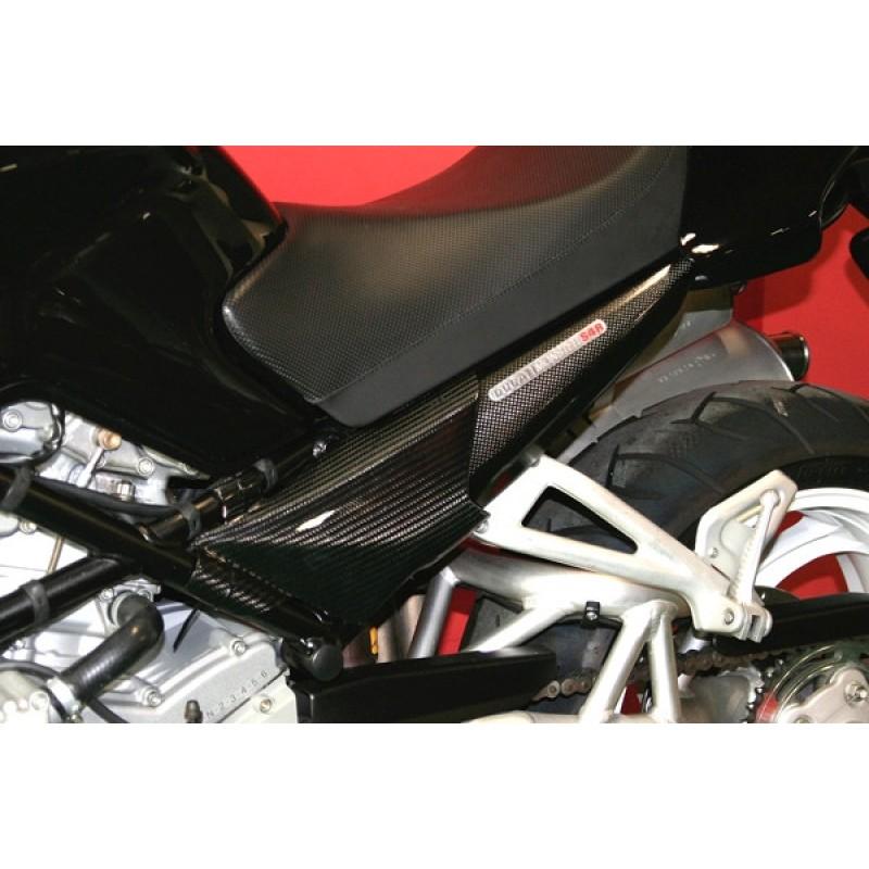 Carbondry Ducati Monster 696 796 1100 Carbon Fiber Frame Side