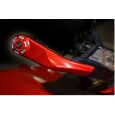 Ducabike Billet Hand Guard protectors for the 2015+ Ducati Multistrada 1260 / 1200 / 950 and Hypermotard 950