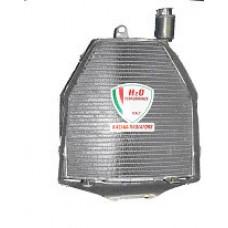 Galletto Radiatori (H2O Performance) Oversize Radiator kit For Piaggio ZIP 2 Series