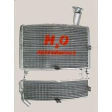 Galletto Radiatori (H2O Performance) Oversize Radiator kit For Piaggio ZIP 1 Series