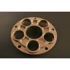 AEM FACTORY - 'CINQUE FORI' DUCATI ALUMINUM 5 HOLE QUICK CHANGE SPROCKET CARRIER W/TI NUTS