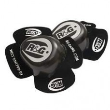 R&G Aero Knee Sliders (black or white) pair