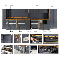 Beta Tools Model C55  Comprehensive Garage Furniture Combination