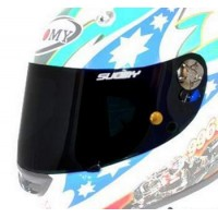 Suomy Race Shield With Tear Off Posts for SR Sport Helmet