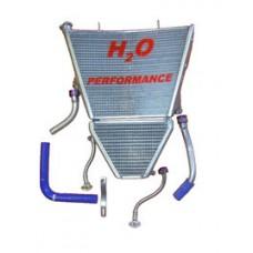 Galletto Radiatori (H2O Performance) Oversize Radiator and Oil Cooler kit For Suzuki GSX-R1000 (2007-08)