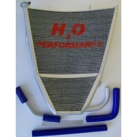 Galletto Radiatori (H2O Performance) Oversize Radiator kit For Suzuki GSX-R600/750 (2006-2010)