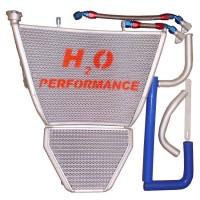 Galletto Radiatori (H2O Performance) Oversize Radiator and Oil Cooler kit For Suzuki GSX-R1000 (2009-2016)