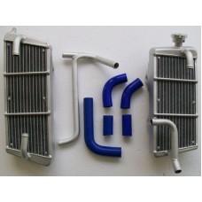 Galletto Radiatori (H2O Performance) Oversize Radiator kit For Suzuki RM-Z1
