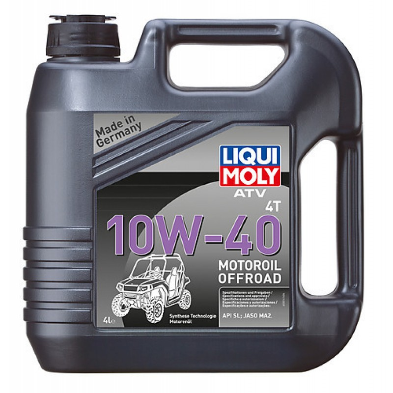 liqui moly atv 4t 10w40 4l. Black Bedroom Furniture Sets. Home Design Ideas