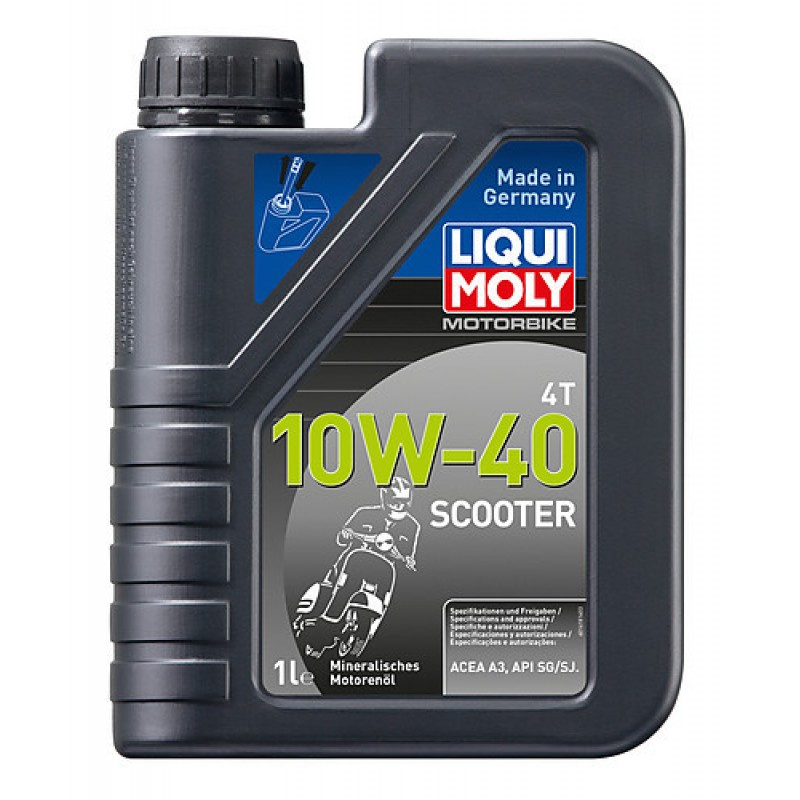 liqui moly motorbike 4t 10w40 scooter 1l. Black Bedroom Furniture Sets. Home Design Ideas
