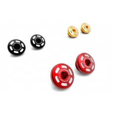 Ducabike Contrast Cut Billet Main Frame Caps (Swing arm pivot) for the Ducati 15+ Multistrada 1260, 1200 and 950