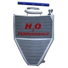 Galletto Radiatori (H2O Performance) Oversize Radiator kit For Triumph Daytona 675 (2006-12)