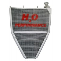 Galletto Radiatori (H2O Performance) Oversize Racing Radiator and Oil Cooler kit For Triumph Daytona 675 (2006-12)