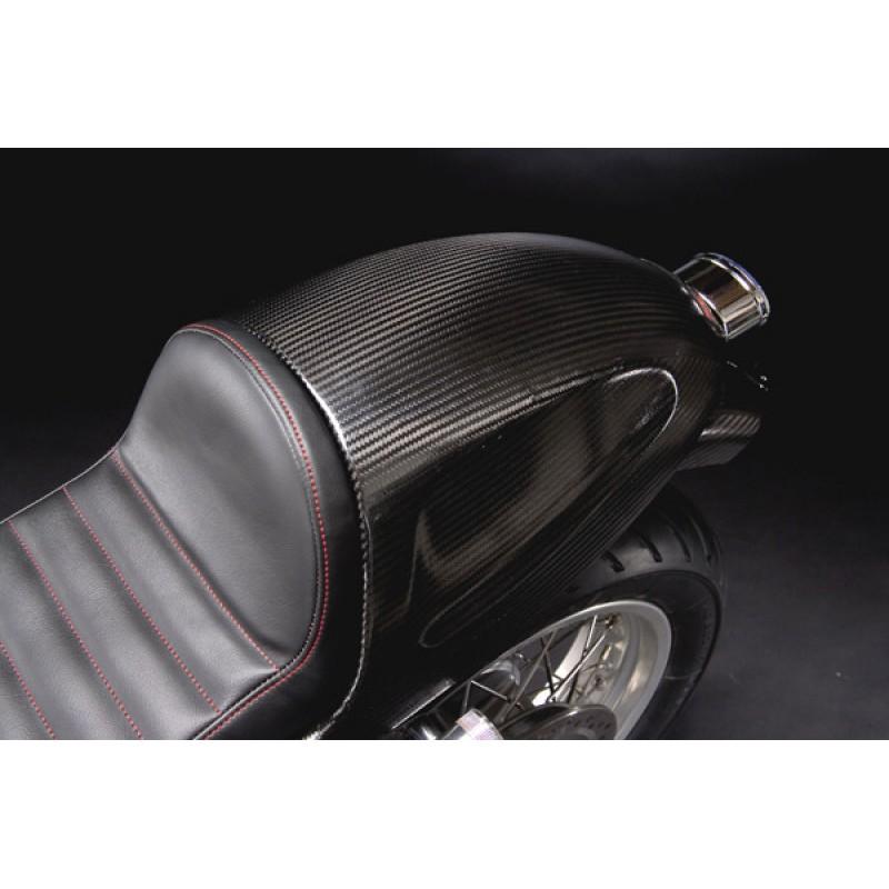 CARBONDRY - CARBON FIBER SOLO RACING SEAT FOR TRIUMPH THRUXTON 2003-15
