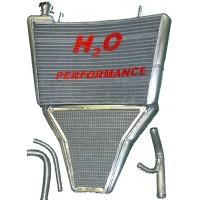 Galletto Radiatori (H2O Performance) Oversize Racing Radiator kit For Yamaha YZF R6 (2003-05)