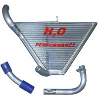 Galletto Radiatori (H2O Performance) Additional Racing Radiator kit For Yamaha YZF R1 (2007-08)