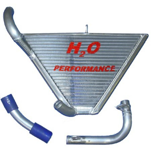 Galletto Radiatori (H2O Performance) Additional Racing Radiator kit For Yamaha YZF R1 (2007-08)