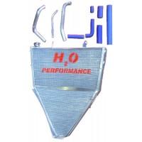 Galletto Radiatori (H2O Performance) Oversize Racing Radiator kit For Yamaha YZF R6 (2008-10)