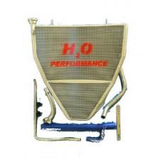 Galletto Radiatori (H2O Performance) Oversize Racing Radiator kit For Yamaha YZF R1 (2009-14)