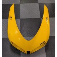 Used - Ducati Yellow OEM Headlight Fairing for Ducati 848/1098/1198