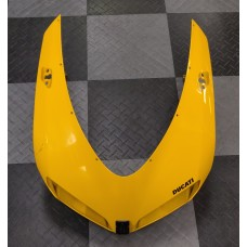 Used - Ducati Yellow OEM Headlight Fairing for Ducati 848/1098/1198