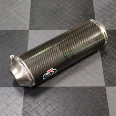 Used - Right Hand Side Muffler for Termignoni Full System for Ducati 1098/1198