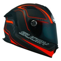 SUOMY SR Sport Carbon Red - Ultra Lightweight