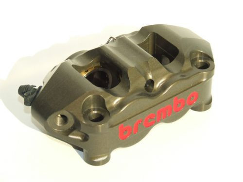 Brembo 100mm CNC Monobloc Race Calipers (Hard Anodized)  - Pair