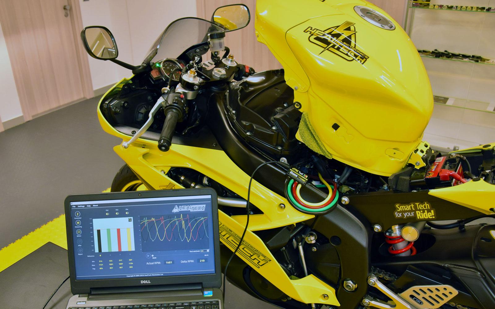 Healtech eSync Tool - Throttle Body and Carburetor Syncing tool