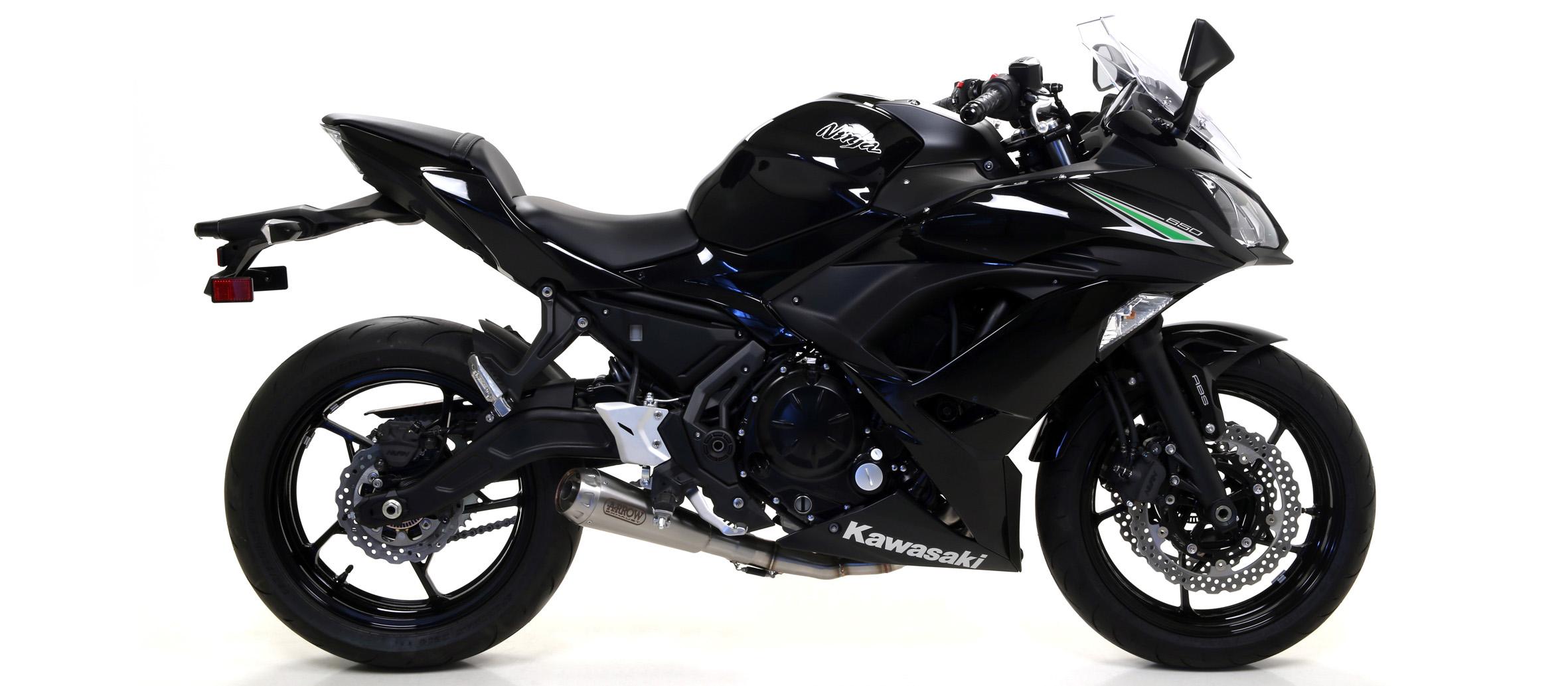 Arrow Exhausts For The Kawasaki Ninja 650 2017-2018