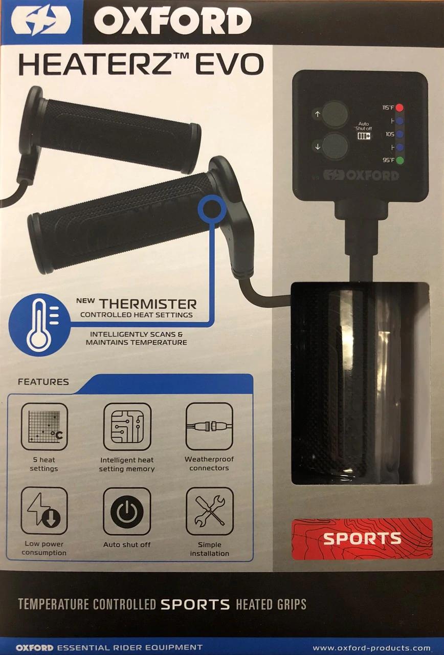 Oxford Heaterz Evo Premium Heated Grips - Sport