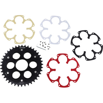 Supersprox Ducati EDGE Rear Sprocket for Ducati's with the Large Hub Single Sided Swingarm