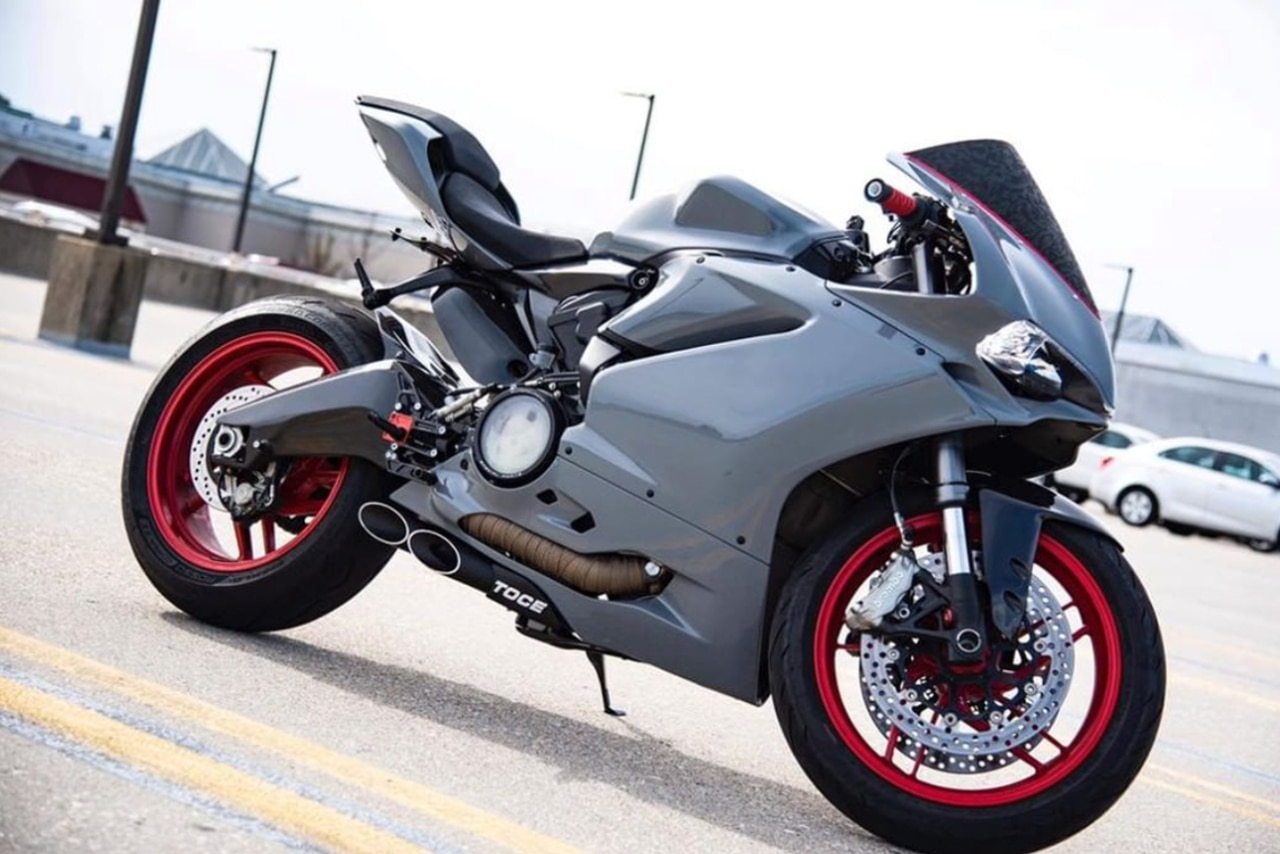 Toce Performance T Slash Slip On Exhaust For Ducati Panigale 899
