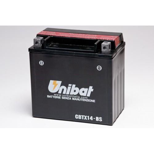 Unibat CBTX14-BS Battery with 3 yr Warranty